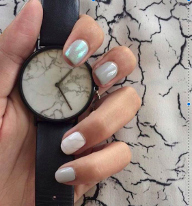 marble watch nails